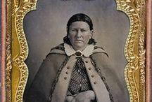 Cynthia Ann Parker & son, Quanah Parker / by Lilhawksmema