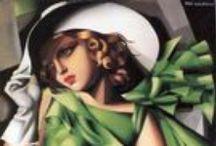 "Tamara de Lempicka / Painter Tamara Łempicka, commonly known as Tamara de Lempicka was a Polish Art Deco painter and ""the first woman artist to be a glamour star"". Wikipedia Born: May 16, 1898, Warsaw, Poland Died: March 18, 1980, Cuernavaca, Mexico Period: Art Deco"
