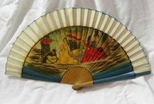 Foldable and vintage fans / Foldable and vintage fans. Modern and vintage with a great style. Keep you cool or to display