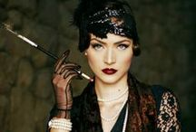 """20's fashion / Love the fluidity and """"legerete"""" of layering, beadings and feathers from the twenties"""