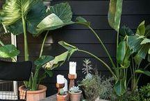 OUTDOOR DECORATION / Des idées de déco pour créer sa terrasse, son coin repas, son coin détente en extérieur dans son jardin