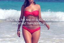 Let's get healthy! / by Rachel Steele