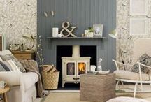 Living Room Ideas | Home / Putting together our dream homes piece by piece. / by House of Fraser