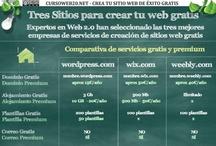 Curso Web 2.0 / Diseña tu Web Gratis, crea contenidos, compartelos, consigue visitas y posiciona tu Web nº 1 en Google.