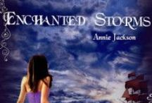 Enchanted Storms / Inspiration for Enchanted Storms - Book 2 in the Princess Kingdom series || dresses, pirates, ships, characters and odd animals