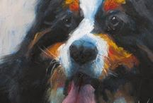 aRT: DoGS... / Art about our dogs. / by Crystal Allison