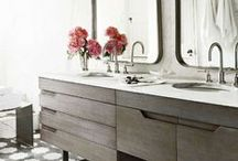 Cleansing Spaces  Interior Design for your Luxury Bathroom / Luxury bathroom spaces.
