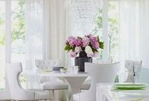 Nourishing Spaces  Interior Design for your Dining room / Dining room spaces to swoon over...