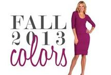 Fall Color Inspiration / Color is important! And we wanted to share why we put so much thought into choosing our new season colors!