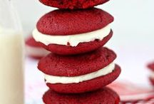 Red Velvet & Cream Cheese / Celebrating the heavenly combination of all things red velvet and cream cheese. / by Cris @ GOODEness Gracious