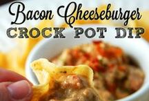 Crock Pot Dips / Dip recipes for your slow cooker that cRock the Pot