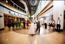Weddings at Liberty Science Center / Untraditional. Undeniable.  Vineyards, hotel ballrooms, country clubs. None of these places feel right because you're not the average bride. That's good, because we're not the average wedding venue.  Our space is adaptable. Our galleries and common areas are intimate and versatile. Be formal, be casual, just be yourselves.  Rates are negotiable. Making your wedding unforgettable is not.  201.253.1378 specialevents@LSC.org http://lsc.org/see-whats-happening/host-your-event/facility-rentals/ / by Liberty Science Center