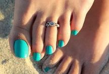 Toe Rings - Jewelry For Your Feet / by Ice.com - Jewelry & Diamonds