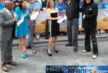 Hiring Our Heroes  / A nationwide effort to help veterans and military spouses find meaningful employment!