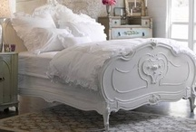 Bedrooms & Headboards / I love a luxurious, comfortable, beautiful bed(room) / by Becky Davis