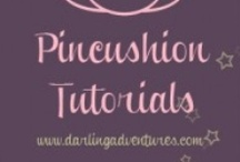 Pincushions / by Sunshine Stitches