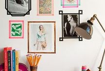 gallery/ photo walls / by cecy j interiors