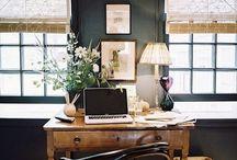 [ office ] / Clean, vintage-ish, organized look.