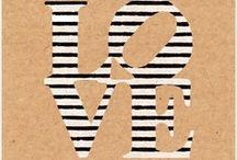 Black & White Stripes / by Sarah Retsch