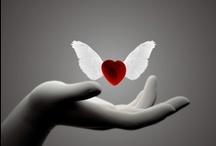 "A Heart Means ""LOVE"" / by Sarah Retsch"
