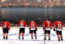 Chicago Blackhawks / Pretty much the best team in Chicago  / by Maggie Guidici