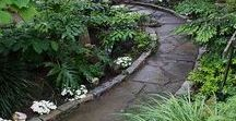 landscaping ideas / landscape design, water gardens, container gardens, landscape structures.