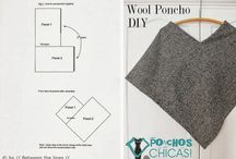 DIY Poncho, Cape etc