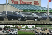 VanDevere Auto Outlet / VanDevere Auto Outlet is located at 3155 South Arlington Road in Akron, OH. The VanDevere Auto Outlet offers you the finest selection of used vehicles in Summit County. Remember that every vehicle at VanDevere comes with the VanDevere Advantage! Just another reason buying from VanDevere is Easy as 1-2-3! You can visit VanDevere Auto Outlet online at www.AutoOutletOnline.com