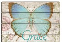 "Grace / ""My grace is sufficient for you, for My power is made perfect in weakness."" 2 Cor. 12:9"