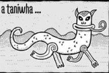 ☆ Kiwi Humour in Comics ☆