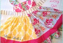 """Rosie Belle's Clothing / """"A little jingle in every dress"""" Little Girls cute boutique dresses!"""