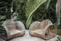Outdoor furniture / Outdoor furniture fit for a patio, backyard or your personal grassy knoll.