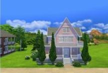 My sims 4 houses / Sims 4 game houses built by whatasimhouse