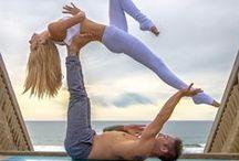 Acro Yoga / Fun Acro Yoga poses, routines, and how tos.