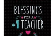 Teacher Blessings / Inspirational Gifts to Bless your Teacher