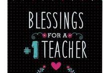 Teacher Blessings / Inspirational Gifts to Bless your Teacher