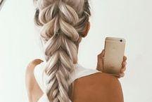 Hairstyles / Easy, trendy, beautiful hairstyles