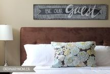 Home Sweet Home / Ideas I love for decor and organization for our home