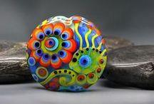 Michou Pascale Anderson Lampwork beads / www.etsy.com/people/MichouJewelry https://www.etsy.com/people/MichouDesign