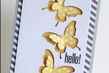 Cards: Butterflies and Birds