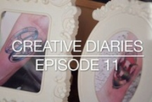 Creative Diaries by FRS / The Creative Diaries episodes by Front Row Society document personal views on lifestyle, fashion, design, art and culture. These Episodes aim to build a bridge between the artist and the industry and to endlessly inspire you for what they do.