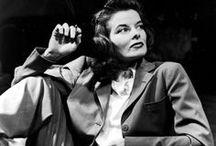 Dashing People of Days Gone By / Errol Flynn, Olivia de Havilland, Katharine Hepburn, some others
