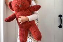 Children and teddy bears