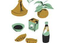 Food // Illustrations