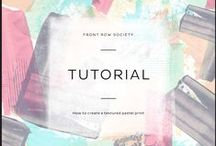 Tips & Tricks - FRS Tutorials / Learn the tricks of the trade with our design tips, including tutorials and informative articles written by Front Row Society's in-house designers.