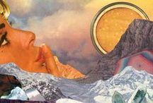 Collage Art / For our mashup madness competition, we're looking for talented designers who aren't afraid to experiment with non-traditional multimedia print design. Whether you're classically trained in oil painting or an avant-garde video artist, you can step up to the print design booth and start producing your visual remix! Enter our new design challenge & design the next hit scarf for Summer 2014 at www.frontrowsociety.com
