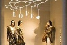 Visual Merchandising / Window Displays for my Boutique.  Inspiration for every season, every holiday and just because / by Trina Torres