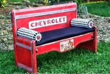 Bench It! / Have an old bed?  Build a bench!  Or a Triple Rocker!  Have a dresser?  Build a bench!  Let your imagination soar.