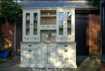 Hutches, China Cabinets, Whatever You Call Them, They Hold Dishes & Other Stuff / Incredible Makeovers For The Dining Room