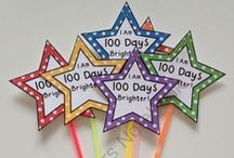 Math - 100th Day / Celebrate the 100th day of school with these activities / by Julie Cryer-Newburn